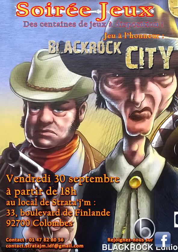 Soirée jeux  Blackrock city