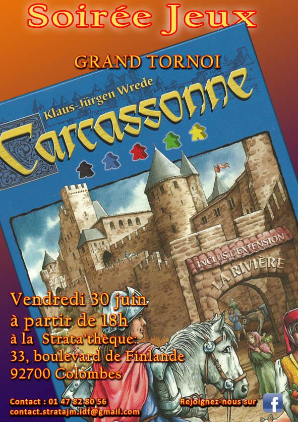 Soirée jeux Carcassonne  copie